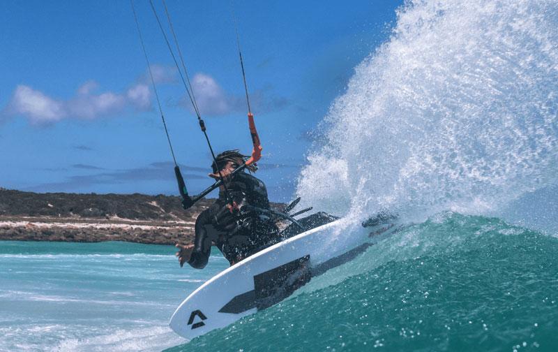 tecnica surf kite