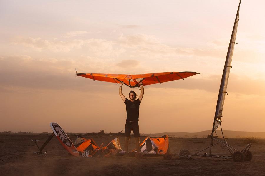 Documentario kitesurf